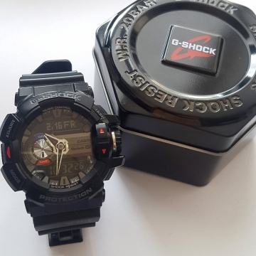 Hodinky Casio G-Shock G-Bluetooth G-Mix GBA-400-1AER